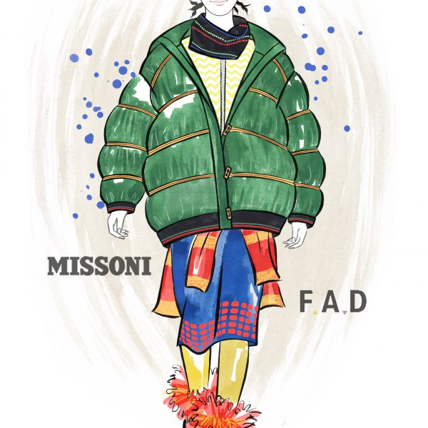 FAD x Missoni Illustration